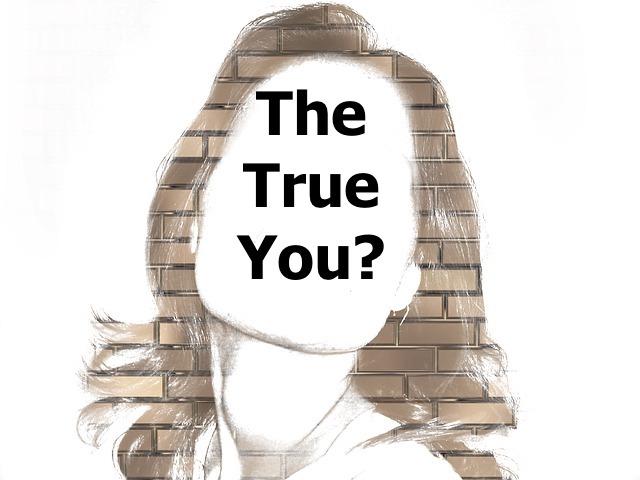 Blank face woman True You?